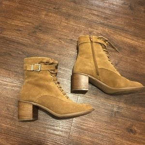Urban Outfitters Karen Suede Lace Up Boot